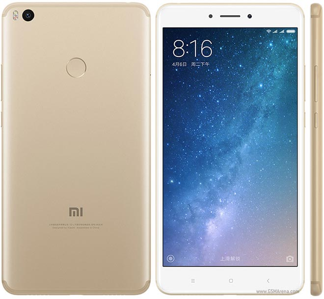 Xiaomi Mi Max 2 pictures, official photos