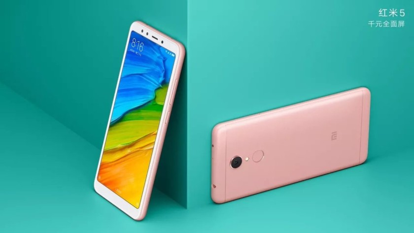 Get a glimpse of the Xiaomi Redmi 5/5 Plus for their official launch