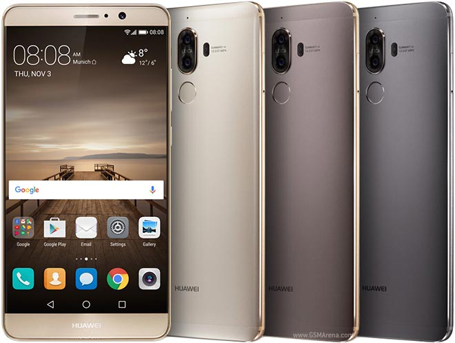 Huawei Mate 9 pictures, official photos