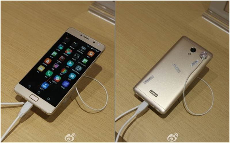 Lenovo Vibe P2 with 5.5-inch AMOLED display shown in live images