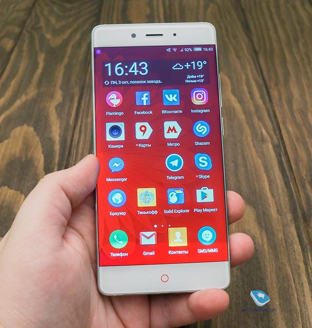 Mobile-review.com Обзор смартфона ZTE Nubia Z11