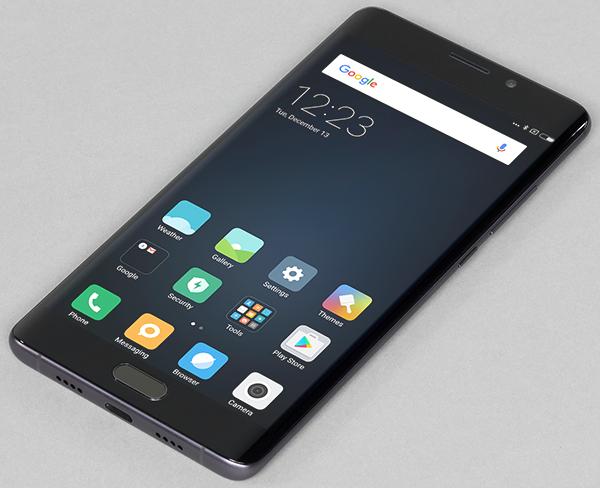 Смартфон Xiaomi Mi Note 2 с OLED-экраном 5,7″ и корпусом из стекла