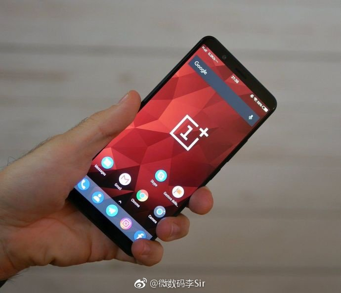 Suspected OnePlus 5T Real Photo Leaks Revealing Front Design