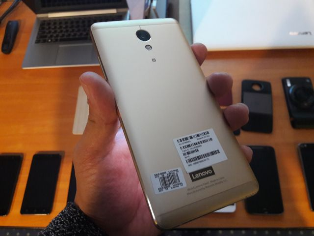 Vibe P2 Review metal smartphone with a big battery
