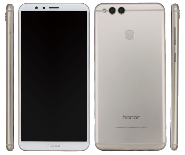 Huawei Honor 7X With 5.9-inch FHD+ Display, Kirin 659 Processor