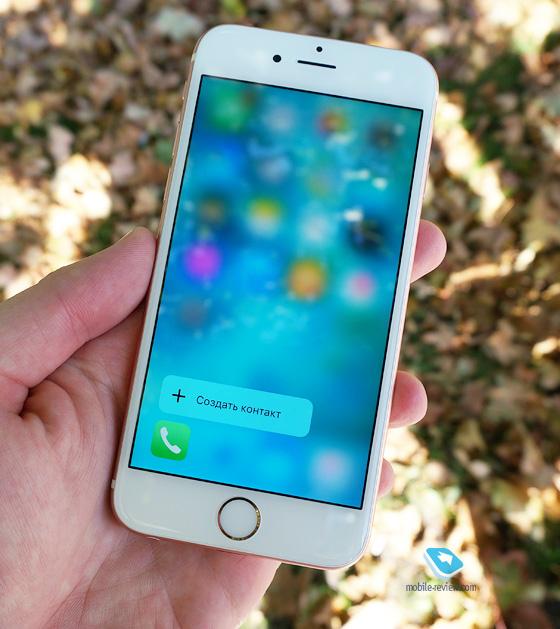 Mobile-review.com Apple iPhone 6S: первый взгляд