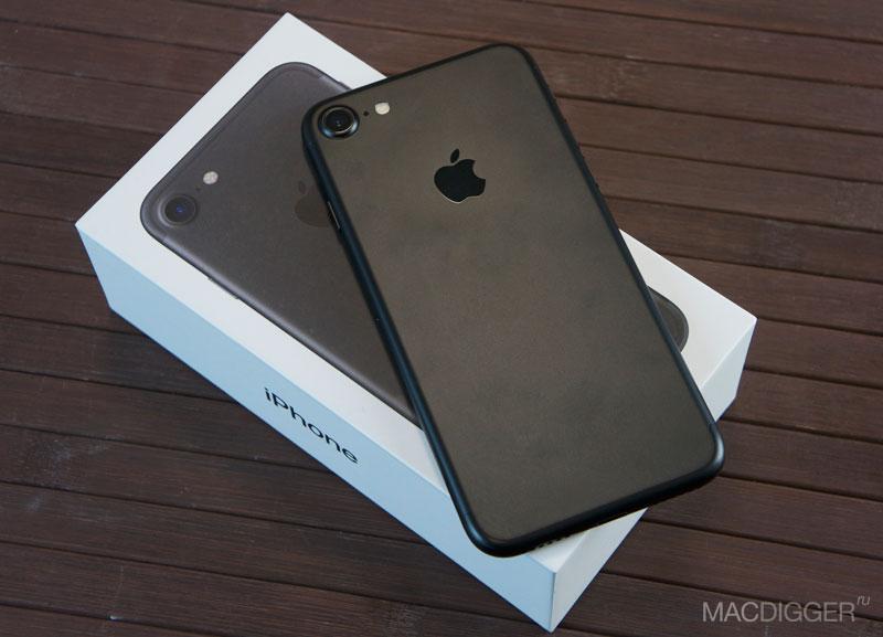 Обзор iPhone 7: черная зависть | MacDigger.ru – новости из мира Apple
