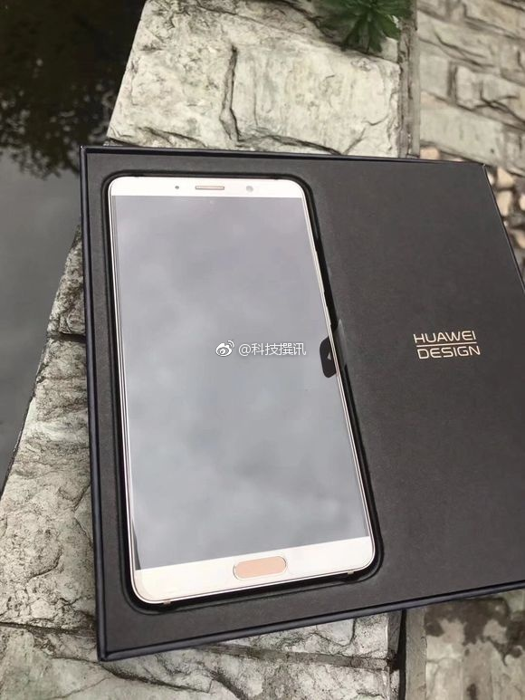 Real Photos Of Huawei Mate 10 With Its Packaging Box Leaked