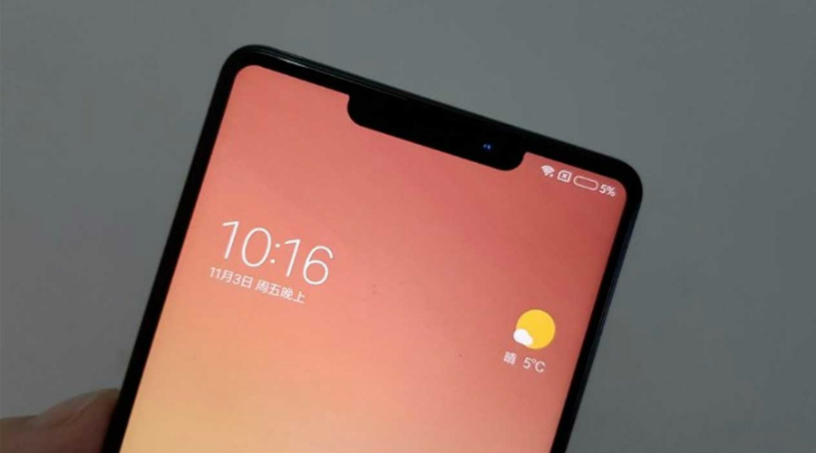 Xiaomi Mi 8 Real Life Pictures Hint In-Display Scanner - Phone