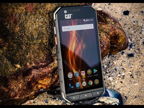CAT S31 rugged Android smartphones announced - YouTube