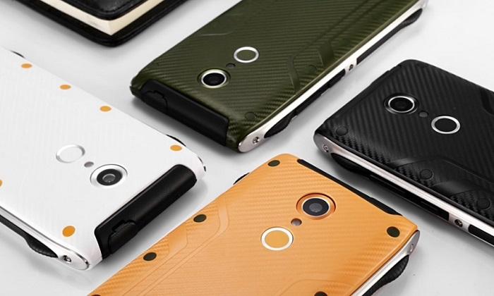 Homtom HT20 Pro — прочный смартфон с оригинальным внешним видом