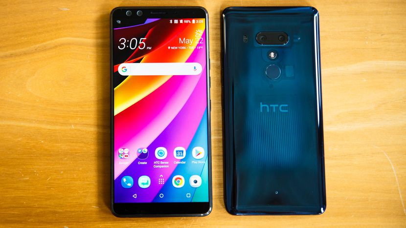 HTC U12 Plus review: This squeezable phone is too gutsy for its