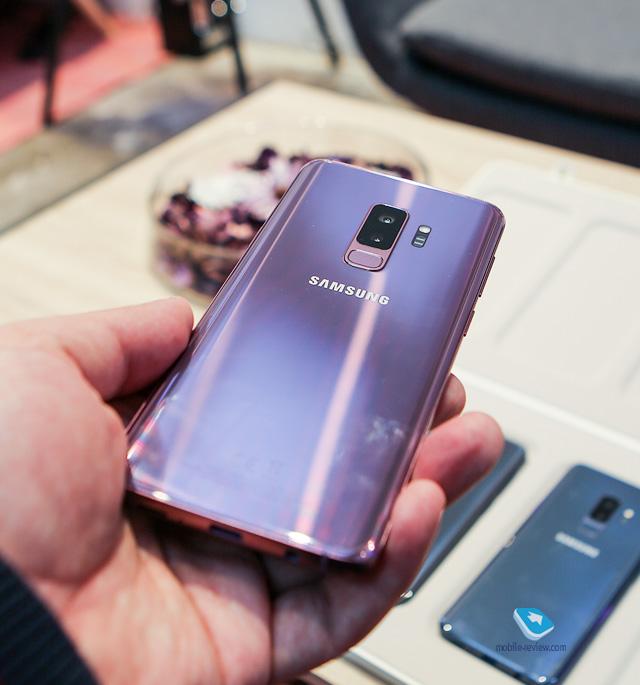 Mobile-review.com Обзор флагманов Samsung Galaxy S9/S9+ (SM-G960/G965)