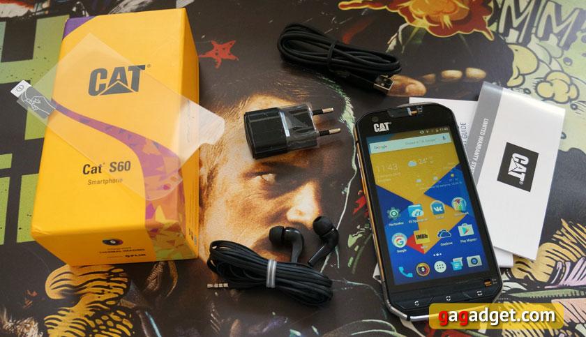 Обзор CAT S60: первый в мире смартфон с тепловизором | gagadget.com