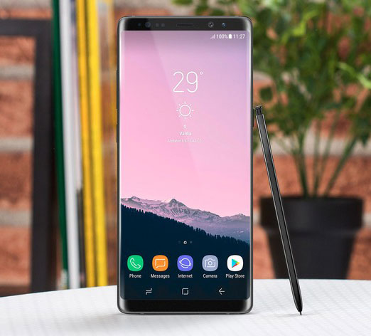 Обзор Samsung Galaxy Note 8 и его дизайн, харастеристики, фото