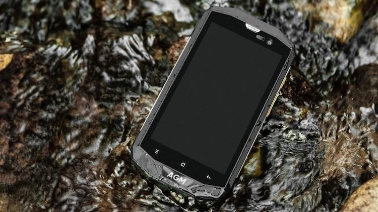 Предварительный обзор AGM A8. Смартфон с IP68 - Mega Obzor