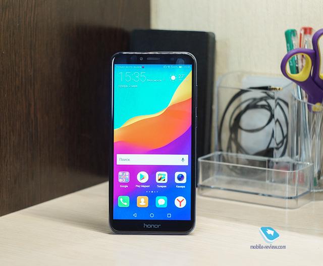 Mobile-review.com Обзор смартфона Honor 7A Pro (AUM-L29)