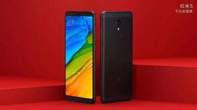 Параметры смартфонов Xiaomi Redmi 5 и Redmi 5 Plus были раскрыты