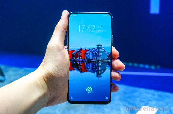 vivo NEX S announced - in-display fingerprint and 91% screen-to