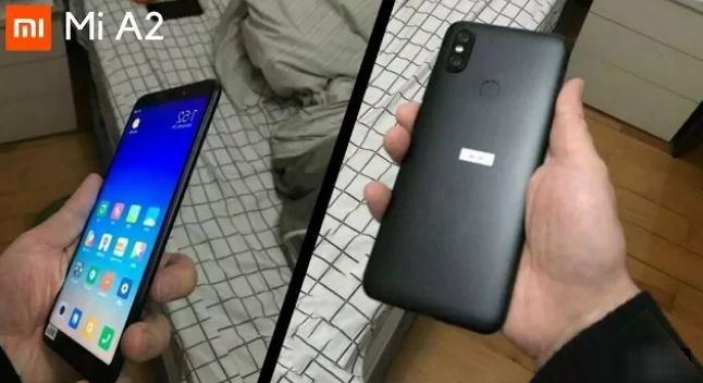 Xiaomi Mi 6X / MI A2 Images Leaked. Showing 18:9 Display, Vertical