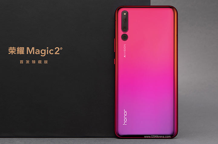 Huawei Honor Magic 2 pictures, official photos