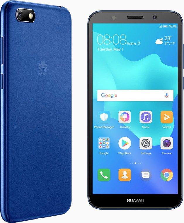 Описание смартфона Huawei Y5 Prime (2018) появилось на сайте