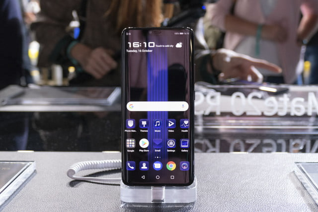 Porsche Design Huawei Mate 20 RS Hands-on Review | Digital Trends