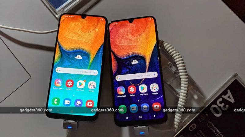 Samsung Galaxy A50 and Galaxy A30 First Impressions | NDTV