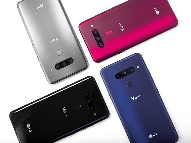 LG V40 ThinQ, with five-camera set-up, OLED screen announced