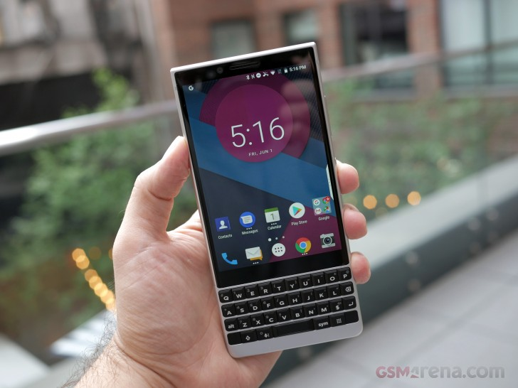 BlackBerry Key2 hands-on review - GSMArena.com tests