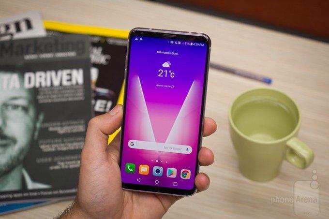 Слухи: LG V35 ThinQ получит 6-дюймовый дисплей и сдавленную камеру