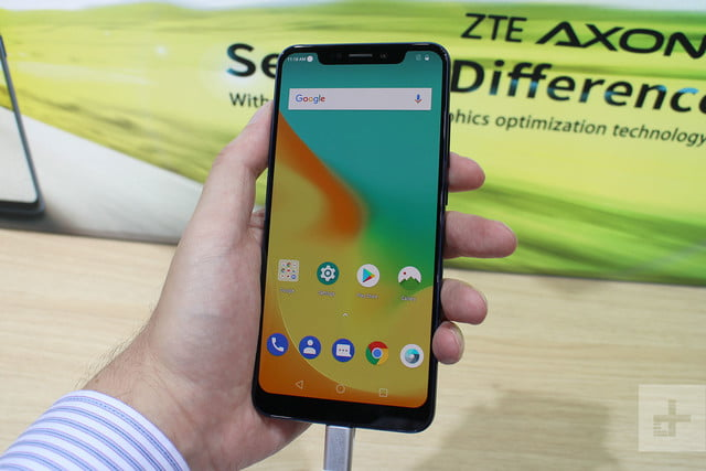 ZTE Axon 9 Pro Hands-On Review | Digital Trends