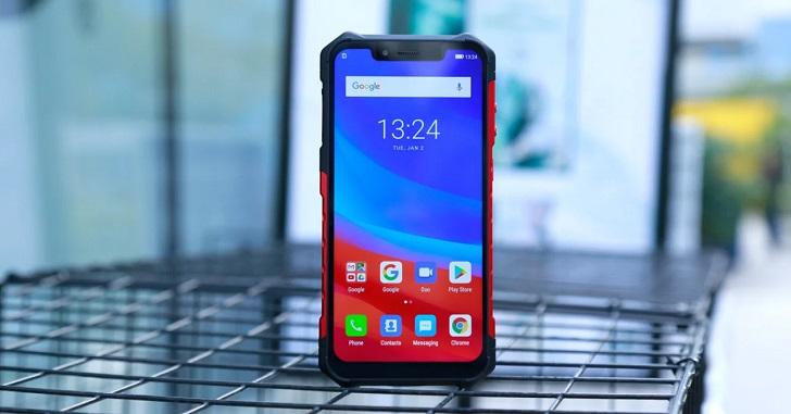 Анонсирован защищенный смартфон с NFC Ulefone Armor 6 » China