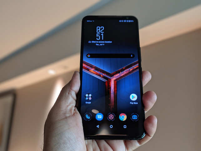 Asus ROG Phone II first impressions: Ultrasonic triggers & gesture