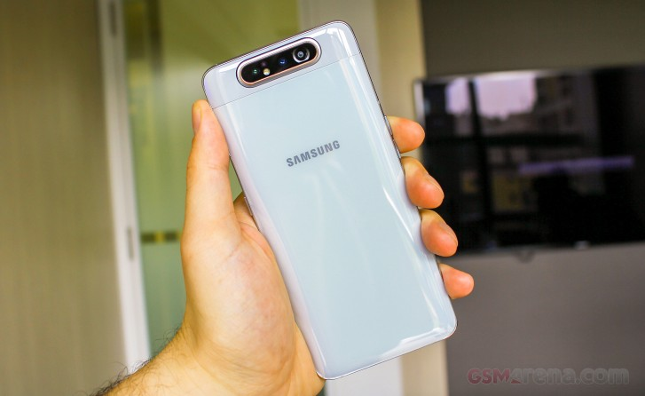 Samsung Galaxy A80 and A70 hands-on review - GSMArena.com tests