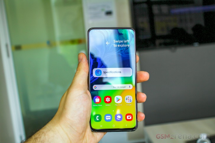 Samsung Galaxy A80 and A70 hands-on review: Samsung Galaxy A80