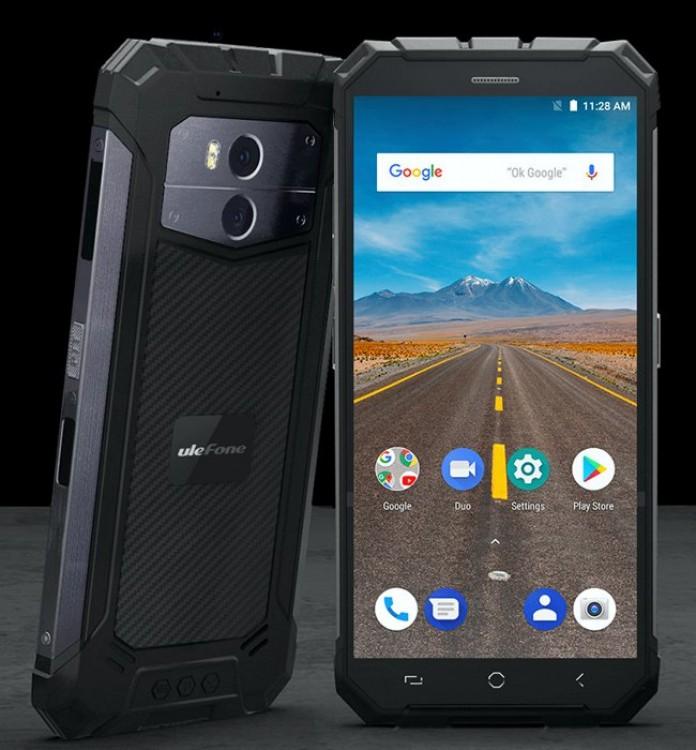 Смартфон Ulefone Armor X получил АКБ на 5 500 мАч - MegaObzor