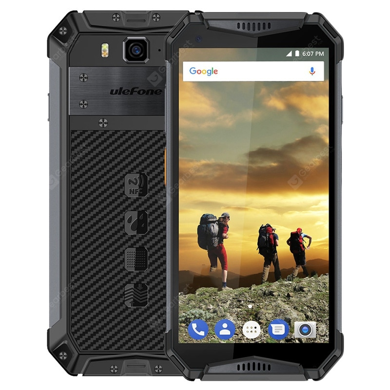 Ulefone Armor 3 Black Cell phones Sale, Price & Reviews | Gearbest