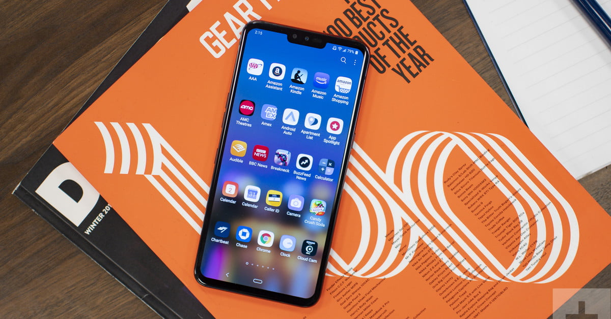 LG V50 ThinQ 5G Review: A Perfectly Dull Contender   Digital Trends