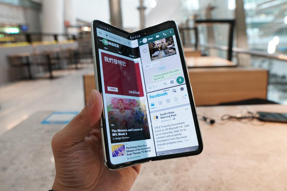 Samsung Galaxy Fold Review ('Fixed' Retail Unit): Only For