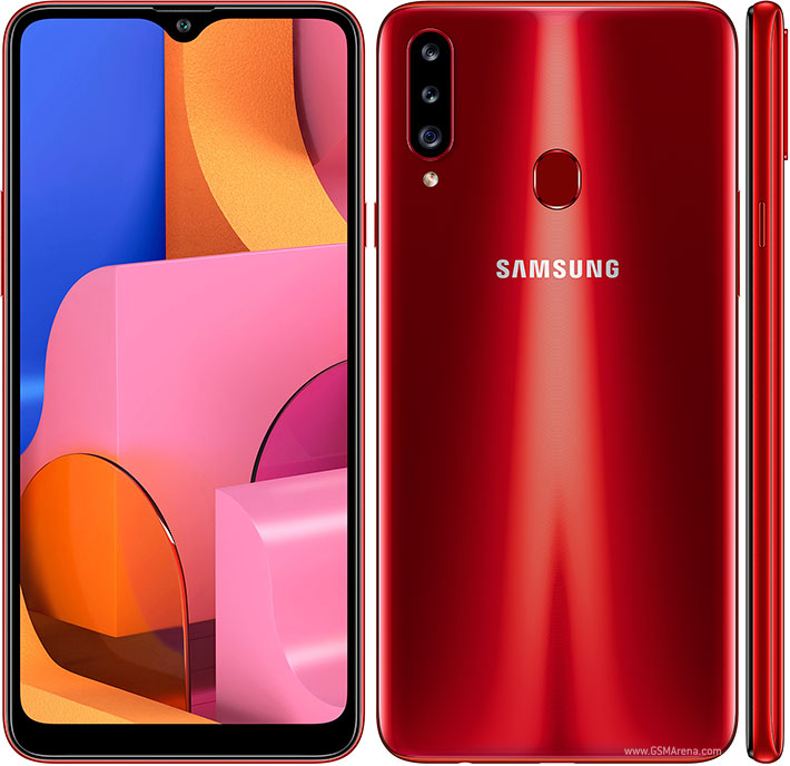 Samsung Galaxy A20s pictures, official photos