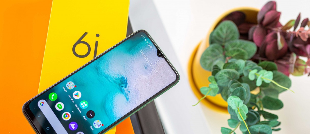 Realme 6i in for review - GSMArena.com news