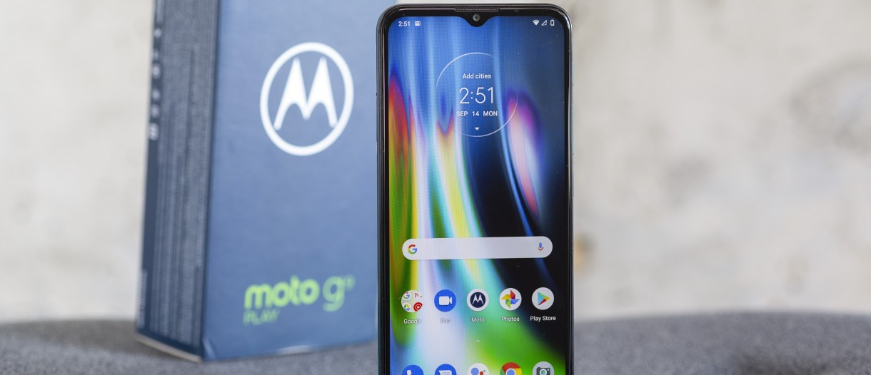 Motorola Moto G9 Play in for review - GSMArena.com news