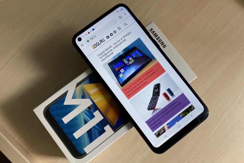Обзор Samsung Galaxy M11: недорогой корейский смартфон с большим