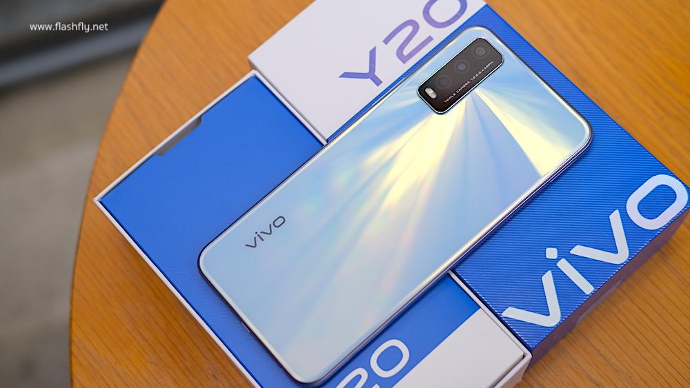 Review of Vivo Y20, large screen, beautiful design, 5000mAh