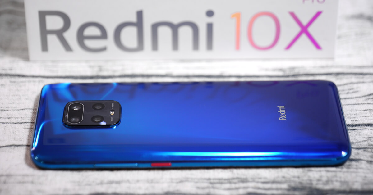 The new series of Redmi 10X smartphones has surpassed the 100
