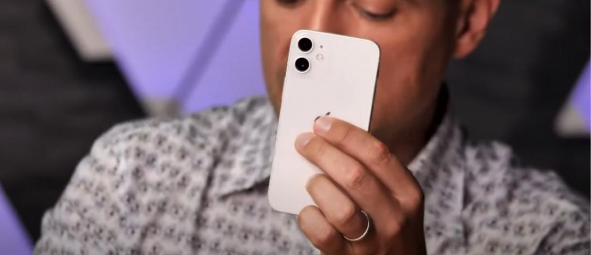 Apple iPhone 12 mini handled on video - GSMArena.com news