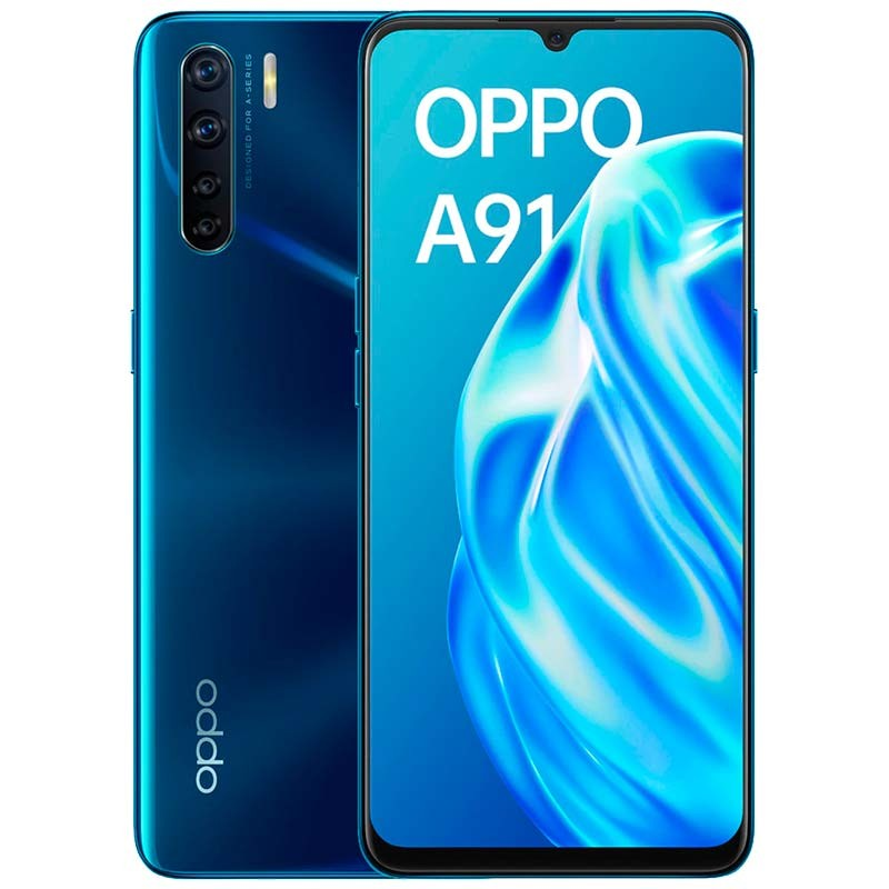 Buy Oppo A91 8GB/128GB Blazing Blue - PowerPlanet