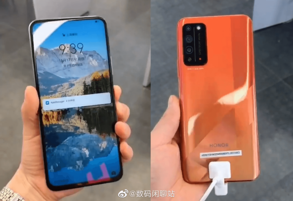 Honor X10 hands-on video and live images leaked
