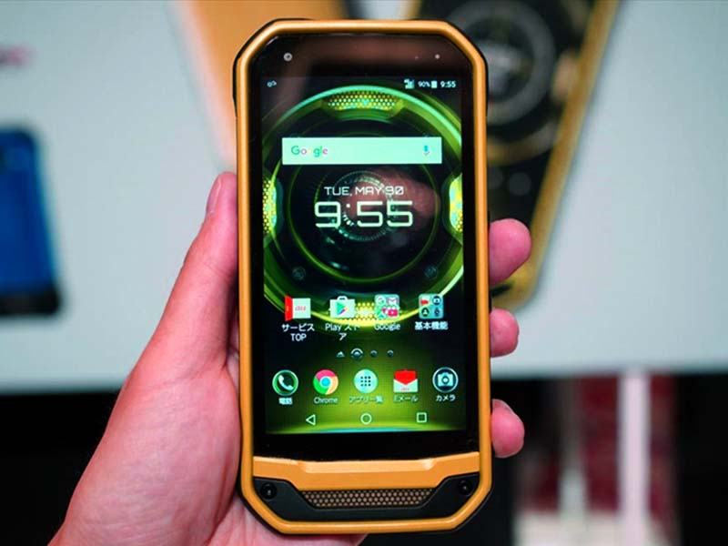 Kyocera Torque G03. Защищенный смартфон из Японии